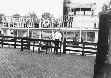 Roberta E Lee Paddlewheeler Entrance