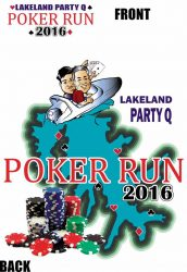 Poster for the 2016 Poker Run